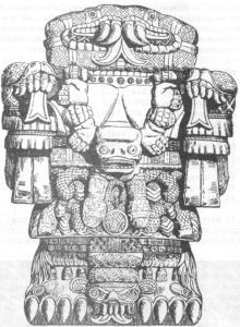 Статуя ацтекской Матери богов