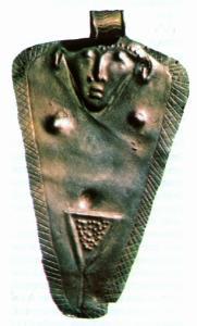 Кулон с изображением Астарты